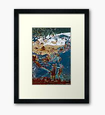 lovers afternoon stroll Framed Print