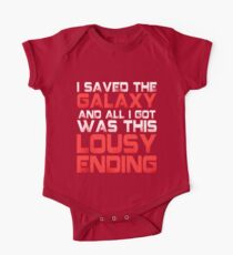 ALL I GOT WAS THIS LOUSY ENDING - Mass Effect ending rage shirt One Piece - Short Sleeve