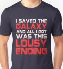 ALL I GOT WAS THIS LOUSY ENDING - Mass Effect ending rage shirt T-Shirt