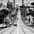 Melbourne Roads by John Violet