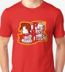 Dwarven Vow #10 - Play hard, play often! Unisex T-Shirt