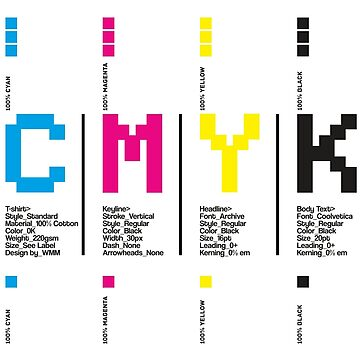CMYK Colors (White Background) by ernstc