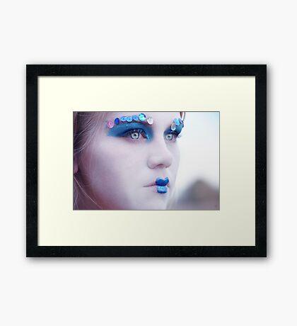Dull Beauty Framed Print