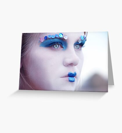 Dull Beauty Greeting Card