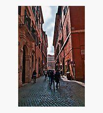 ROME - STREETSCAPE (1)  Photographic Print