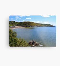 Caswell Bay, Gower Peninsula Metal Print