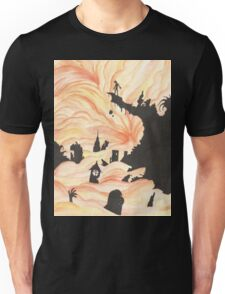 At the Edge Unisex T-Shirt
