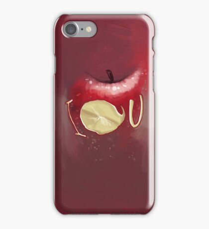 I O U a fall iPhone Case/Skin