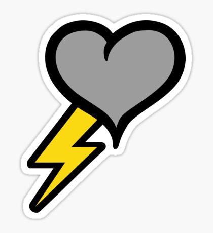 Thunder Heart (weather symbol) Sticker