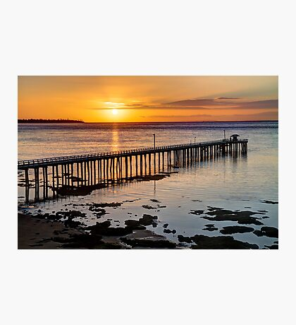 """Sunrise at Point Lonsdale"" Photographic Print"