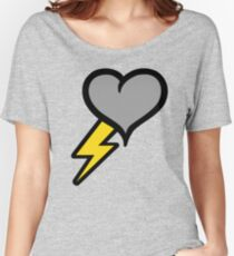 Thunder Heart (weather symbol) Women's Relaxed Fit T-Shirt