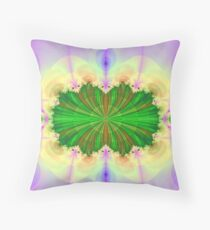 Fractal Cavity Throw Pillow