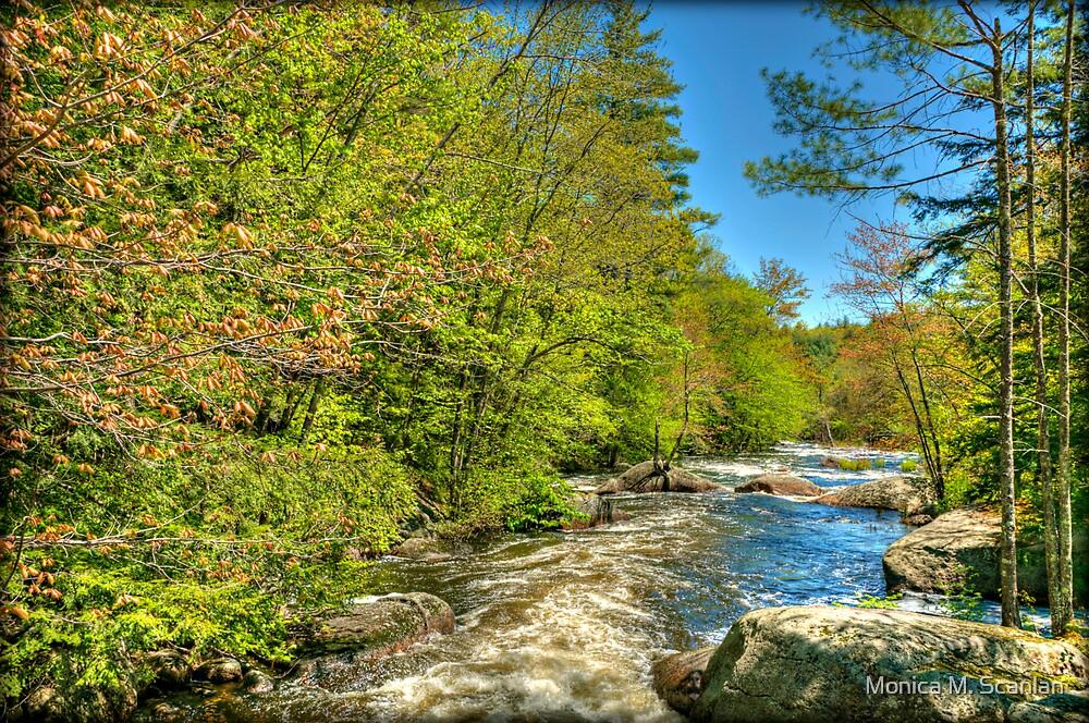A River Rushing Through by Monica M. Scanlan