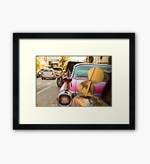 Miami Old- and New-Time Framed Print