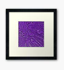 Purple for Little Miss Emily Framed Print