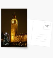 Big Ben ticks Goodnight Postcards
