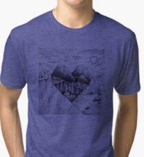Wild At Heart Tri-blend T-Shirt