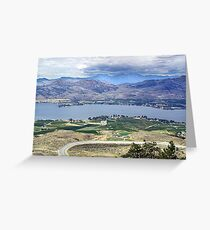 Desert and Irrigation Greeting Card