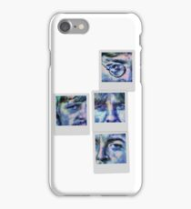 Beatles in Blue Collage iPhone Case/Skin