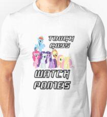 Tough guys [black text] T-Shirt