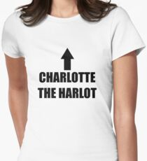 Charlotte The Harlot Women's Fitted T-Shirt