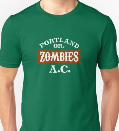 Portland Zombies Athletic Club (dark) T-Shirt