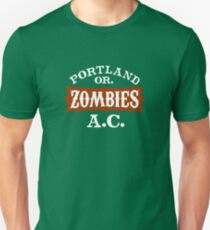 Portland Zombies Athletic Club (dark) Unisex T-Shirt