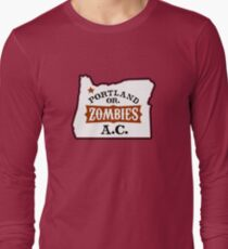 Portland Zombies AC Oregon Long Sleeve T-Shirt