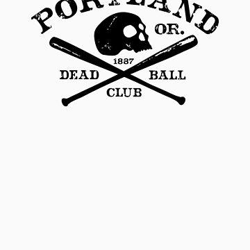 Portland Zombies Deadball Classic by RobDeBorde