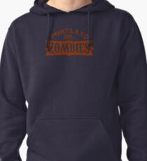 Portland Zombies Distressed Logo Pullover Hoodie