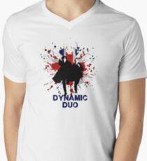 Dynamic Duo Mens V-Neck T-Shirt