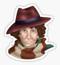 Tom Baker Sticker