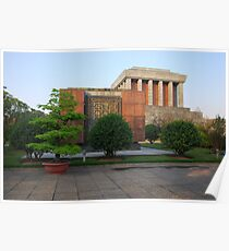 Side view of Ho Chi Minh's Mausoleum Poster