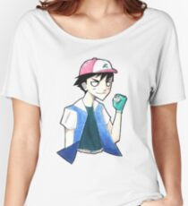 Pokemon: Ash Ketchum Women's Relaxed Fit T-Shirt
