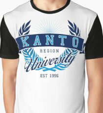 Kanto Region University Graphic T-Shirt