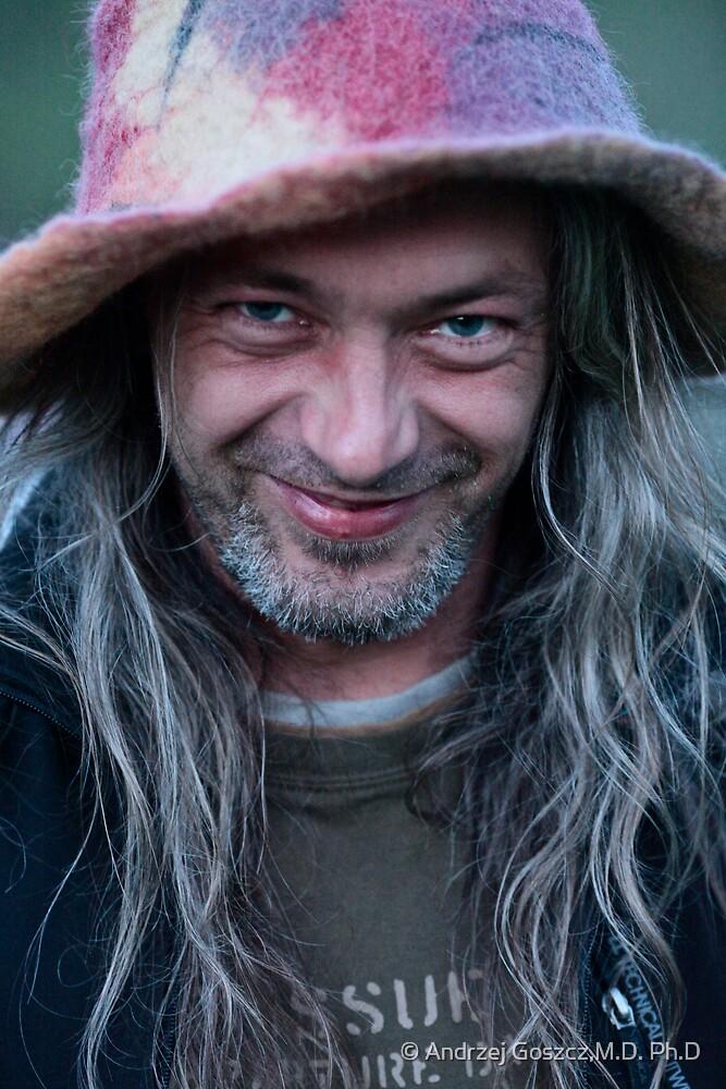 ❤‿❤ . Joyful and playful man. No.2. by © Andrzej Goszcz,M.D. Ph.D