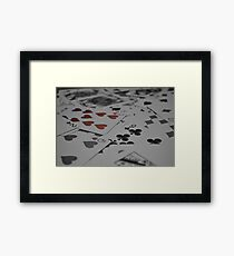 The Trick To Life Framed Print