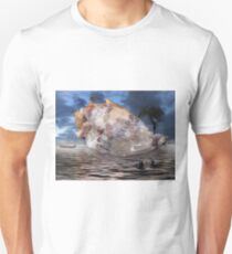 storm tree on shell Unisex T-Shirt