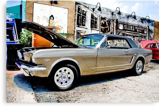 Mustang on Main by Leta Davenport