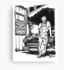 Grubby Brothers Garage Canvas Print