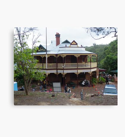 Mundaring Weir Hotel, Western Australia Canvas Print