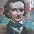 Edgar Alan Poe by Josef Rubinstein