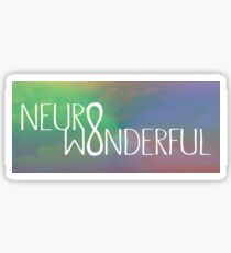Neurowonderful Sticker