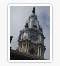 Classic Architecture, Philadelphia City Hall, Philadelphia, Pennsylvania Sticker
