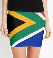 National flag of the Republic of South Africa Authentic version Mini Skirt
