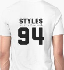 STYLES '94 - Black T-Shirt