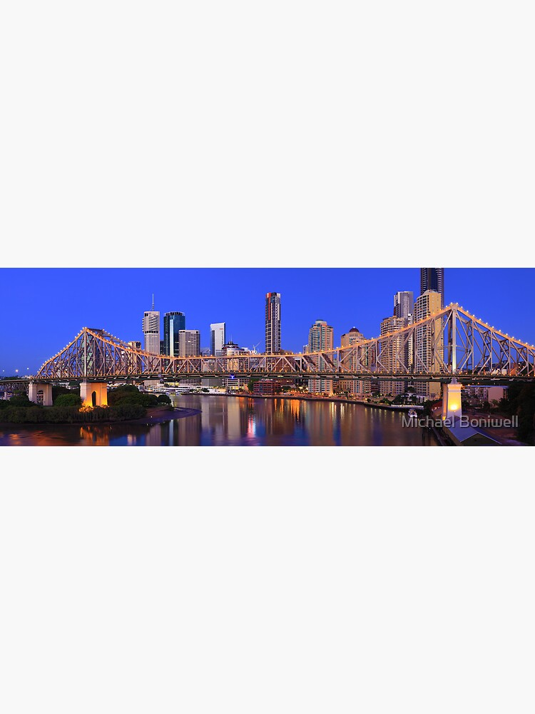 Story Bridge, Brisbane, Queensland, Australia by Chockstone