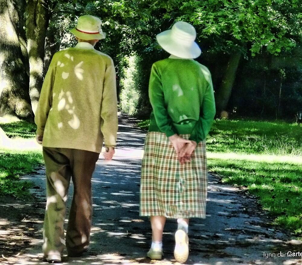 Sunday Afternoon Stroll At Sidford Devon by lynn carter