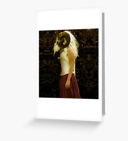 Beautiful Liar Greeting Card