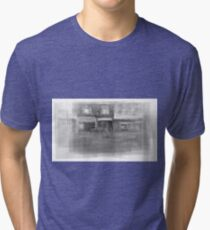 Angst downtown Toronto streetscape Tri-blend T-Shirt